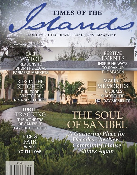 Time of the Islands Cover Nov.Dec 2017