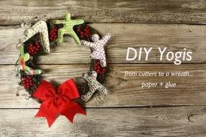 Holiday Yogi Wreath