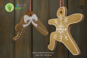 Yoga Cookie Ornaments