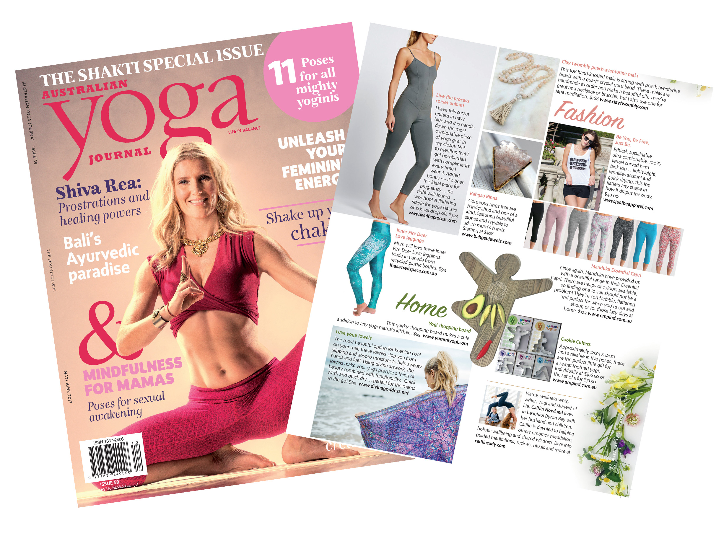 Yoga Journal Australia 2 page